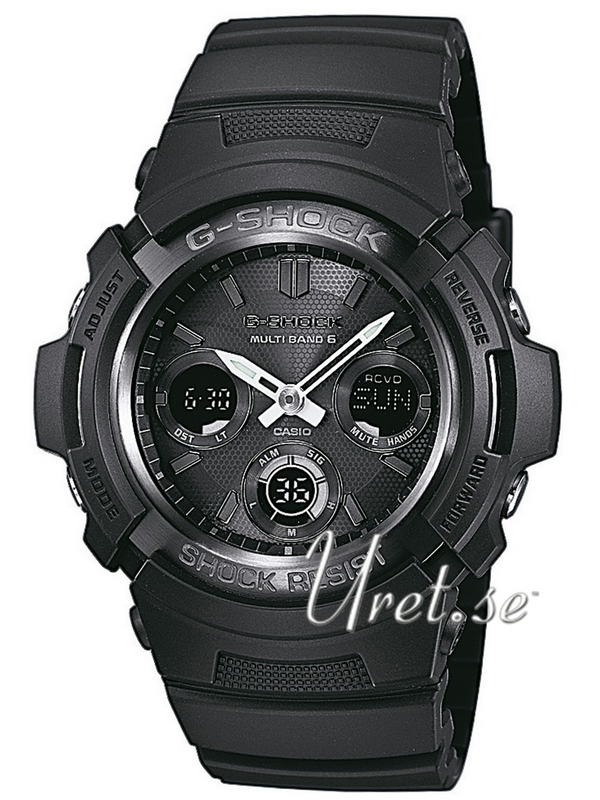 Casio G-Shock Herreklokke AWG-M100B-1AER Sort/Resinplast Ø46.6 mm - Casio