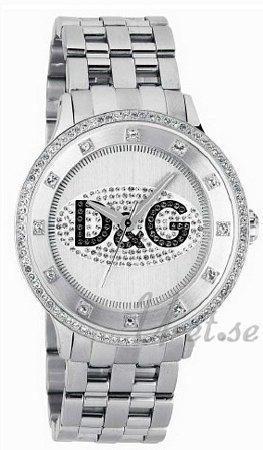 Dolce & Gabbana D&G Prime Time DW0131 Sølvfarget/Stål Ø46 - Dolce & Gabbana D&G