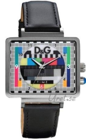 Dolce & Gabbana D&G DW0514 TV Test Card Dial Flerfarget/Lær - Dolce & Gabbana D&G