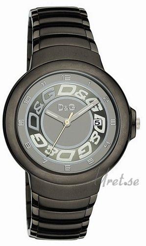Dolce & Gabbana D&G Herreklokke DW0249 Grå/Stål Ø43 mm - Dolce & Gabbana D&G