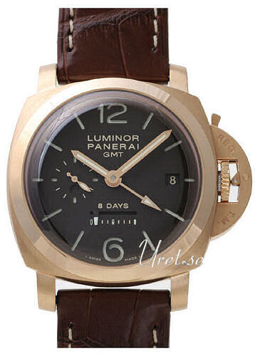 Panerai Historic Luminor 1950 8 Days GMT Herreklokke PAM 289 - Panerai
