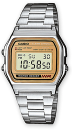 Casio Casio Collection Stål 36.8x33.2 mm A158WEA-9EF