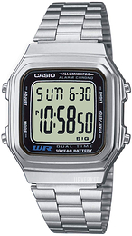 Casio Casio Collection Stål 41.2x34 mm A178WEA-1AES