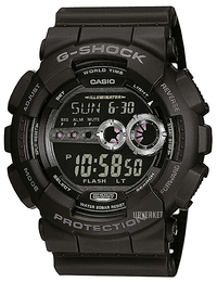 Casio G-Shock Sort/Resinplast Ø51.2 mm GD-100-1BER