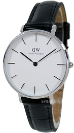 Daniel Wellington Classic Petite Reading Hvit/Lær Ø32 mm DW00100185
