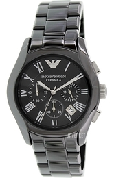 Emporio Armani Dress Sort/Keramik Ø42 mm AR1400