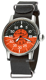 Fortis Flieger Flerfarget/Tekstil Ø40 mm 595.11.13.N01