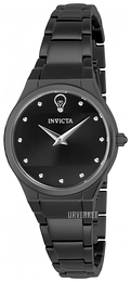 Invicta Gabrielle Union Sort/Stål Ø30 mm 23276