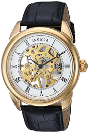 Invicta Specialty Hvit/Lær Ø42 mm 23535
