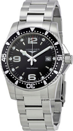 Longines HydroConquest Sort/Stål Ø41 mm L3.740.4.56.6