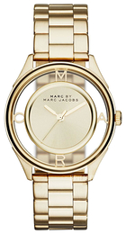 Marc by Marc Jacobs Dress Gulltonet/Gulltonet stål Ø36 mm MBM3413