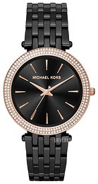 Michael Kors Darci Sort/Stål Ø39 mm MK3407