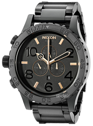 Nixon The 51-30 Sort/Stål Ø51 mm A083957-00