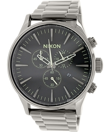 Nixon The Sentry Grå/Stål Ø42 mm A3861885-00