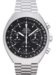 Omega Speedmaster Mark II Co-Axial Chronograph 42.4x46.2mm Sort/Stål Ø42.4 mm 327.10.43.50.01.001