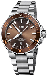 Oris Diving Brun/Stål Ø43.5 mm 01 733 7730 4152-07 8 24 05PEB