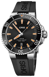 Oris Diving Sort/Gummi Ø43.5 mm 01 733 7730 4159-07 4 24 64EB