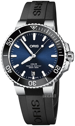 Oris Diving Blå/Gummi Ø39.5 mm 01 733 7732 4135-07 4 21 64FC