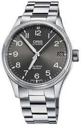 Oris Aviation Grå/Stål Ø41 mm 01 751 7697 4063-07 8 20 19