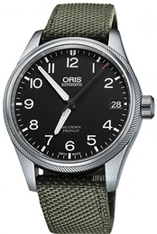 Oris Oris Aviation Sort/Tekstil Ø41 mm 01 751 7697 4164-07 5 20 14FC