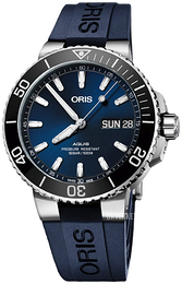 Oris Diving Blå/Gummi Ø45.5 mm 01 752 7733 4135-07 4 24 65EB