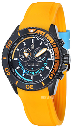 Spinnaker Amalfi Sort/Gummi Ø46 mm SP-5021-04