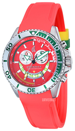 Spinnaker Amalfi Rød/Gummi Ø46 mm SP-5021-06