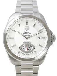 TAG Heuer Grand Carrera Calibre 6RS Automatic Hvit/Stål Ø40.2 mm WAV511B.BA0900