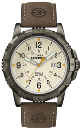 Timex Expedition Beige/Lær Ø45 mm T49990