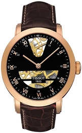 Tissot T-Gold Sort/Lær Ø42.5 mm T71.8.471.53