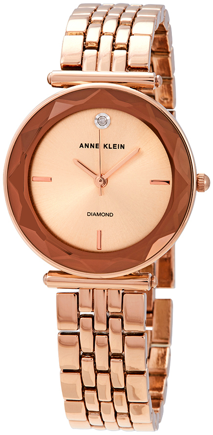 Anne Klein Diamond Dameklokke AK/3412RGRG - Anne Klein