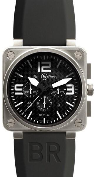 Bell & Ross BR 01-94 Herreklokke BR0194-TITANIUM - Bell & Ross