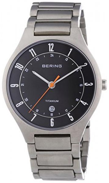 Bering Titanium Herreklokke 11739-772 Grå/Titan Ø39 mm - Bering