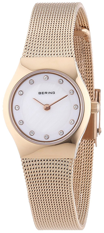 Bering Classic Dameklokke 11923-366 Hvit/Rose-gulltonet stål Ø23 mm - Bering