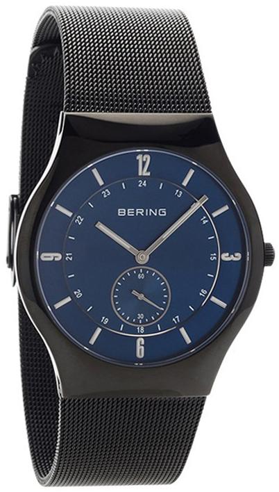 Bering Classic Herreklokke 11940-227 Blå/Stål Ø40 mm - Bering