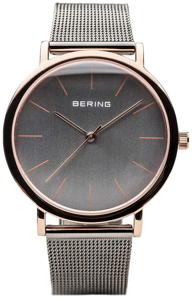 Bering Classic 13436-369 Grå/Stål Ø36 mm - Bering