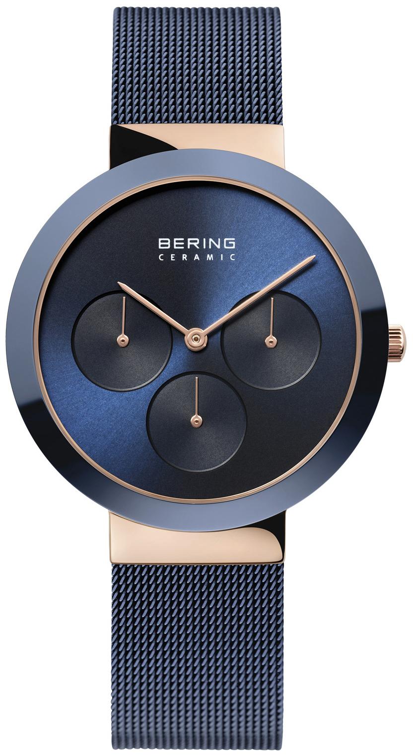Bering Ceramic 35036-367 Blå/Stål Ø36 mm - Bering