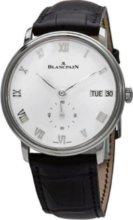 Blancpain Villeret Herreklokke 6652-1127-55B Hvit/Lær Ø40 mm - Blancpain