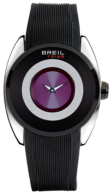 Breil Dameklokke TW0543 Lilla/Gummi Ø40 mm - Breil