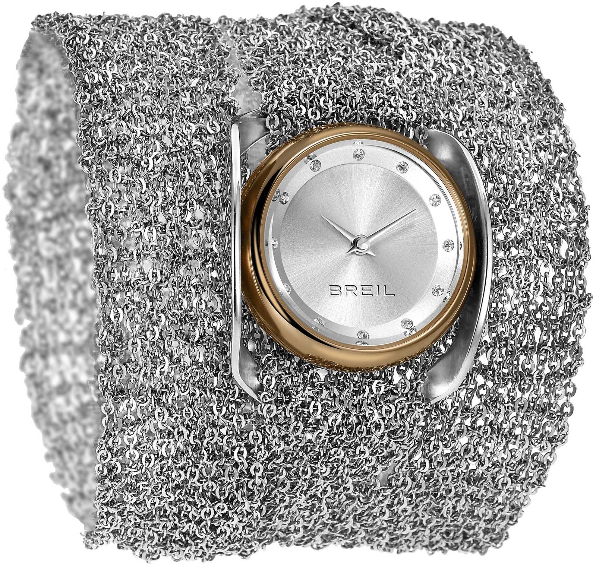 Breil Infinity Dameklokke TW1239 Sølvfarget Ø31 mm - Breil