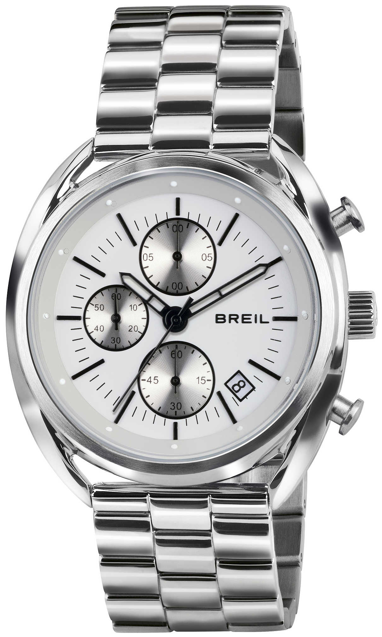 Breil 99999 Herreklokke TW1518 Hvit/Stål Ø42 mm - Breil