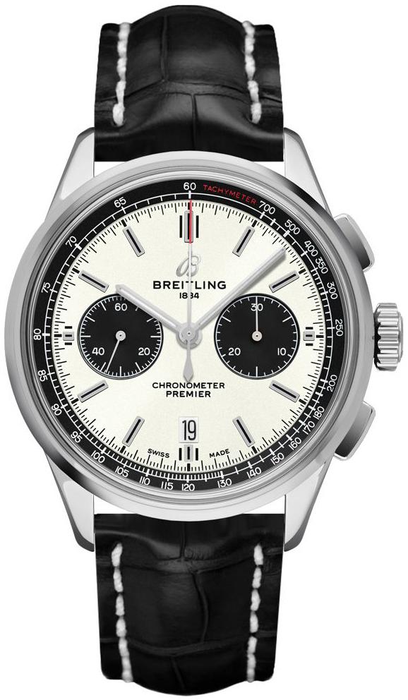 Breitling Premier Chronograph 42 Herreklokke AB0118221G1P1 - Breitling