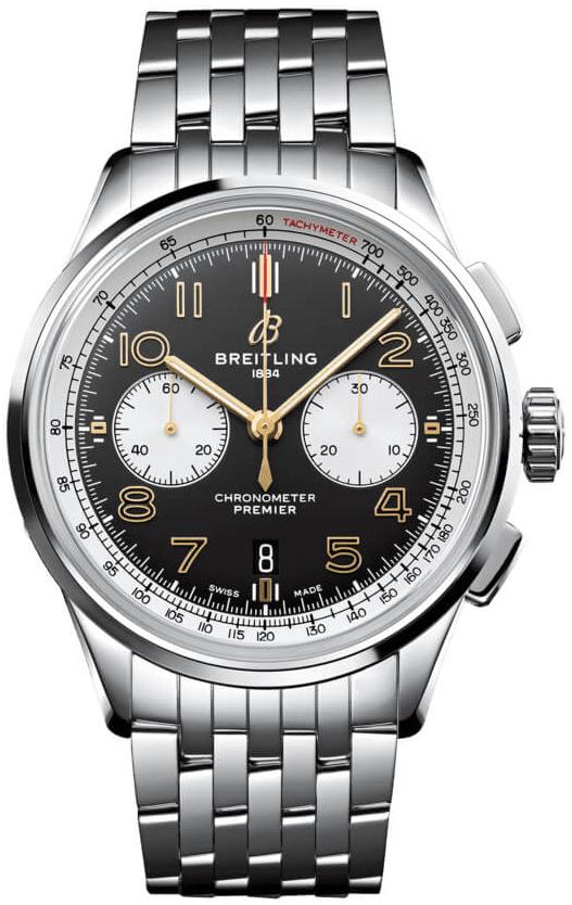 Breitling Premier B01 Chronograph 42 Herreklokke AB0118A21B1A1 - Breitling