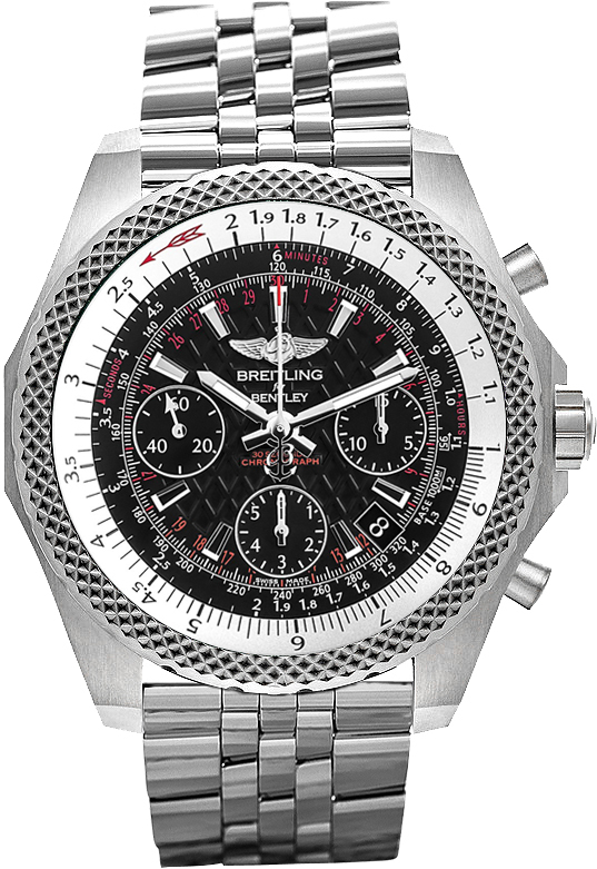 Breitling for Bentley B06 Herreklokke AB061221-BD93-980A Sort/Stål - Breitling for Bentley