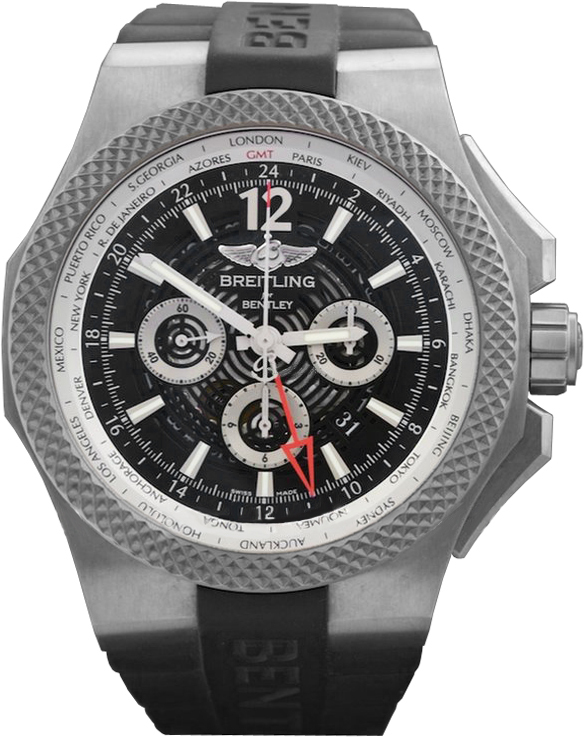 Breitling for Bentley GMT Light Body Herreklokke - Breitling for Bentley