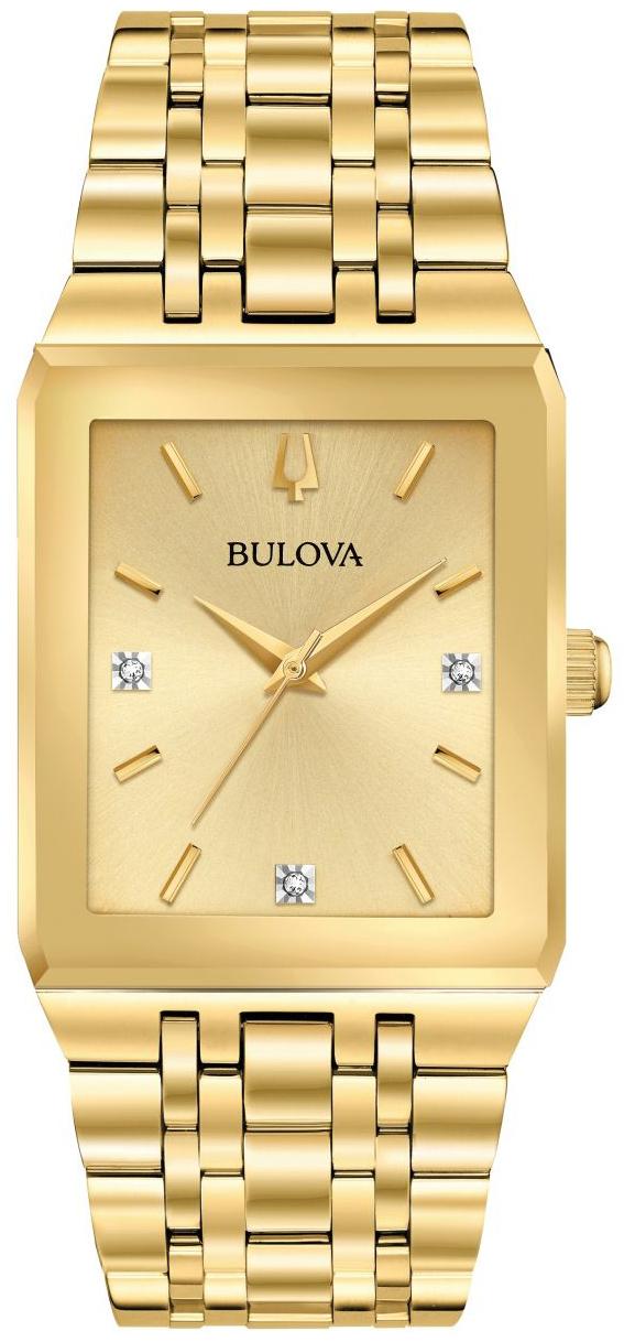 Bulova 99999 Herreklokke 97D120 Gulltonet/Gulltonet stål - Bulova