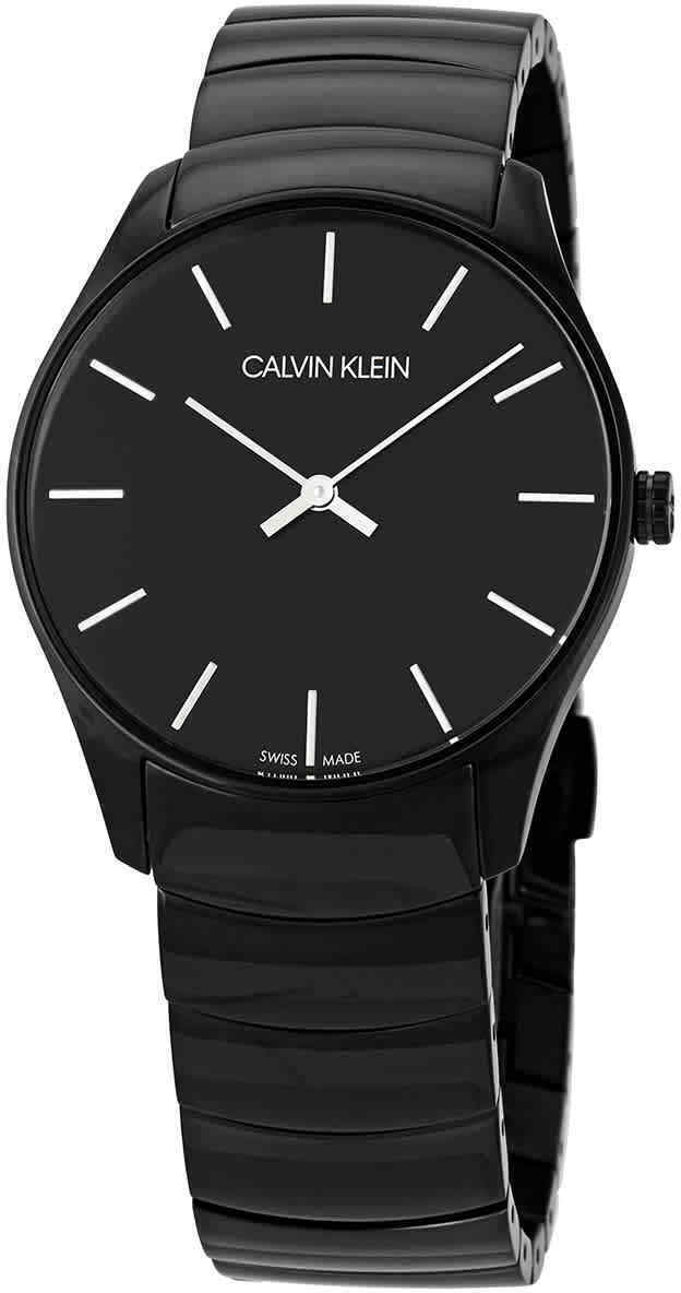 Calvin Klein Classic K4D21441 Sort/Stål Ø38 mm - Calvin Klein