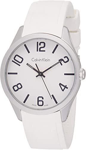 Calvin Klein Color Herreklokke K5E511K2 Hvit/Gummi Ø40 mm - Calvin Klein