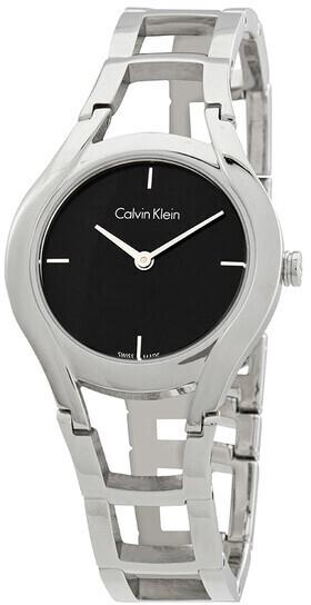 Calvin Klein Classic Dameklokke K6R23121 Sort/Stål Ø32 mm - Calvin Klein