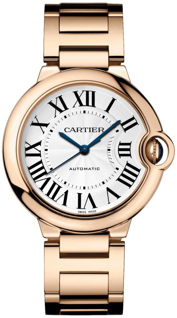 Cartier Ballon Bleu De Cartier Dameklokke WGBB0008 Sølvfarget/18 - Cartier